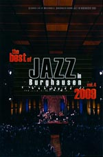 DVD-Cover: The Best Of Jazz In Burghausen - Vol. 4, 2009